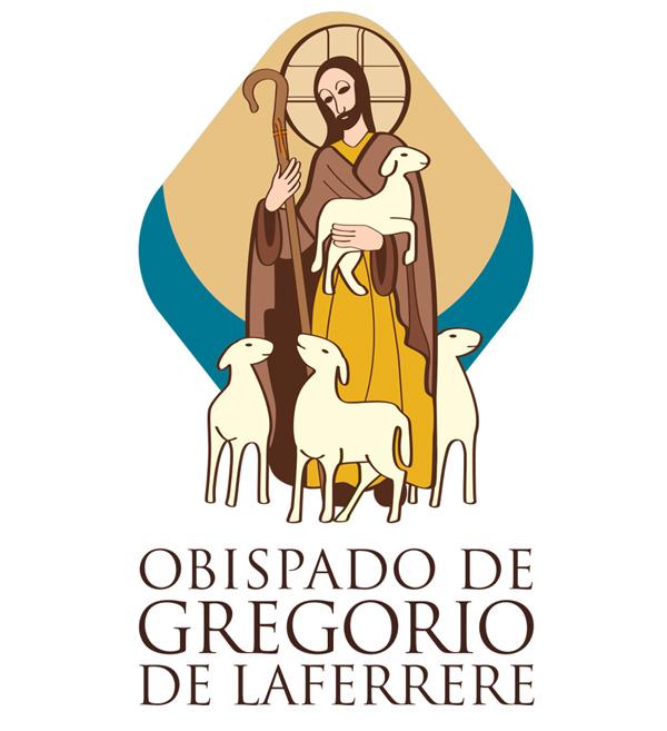 Isologotipo de la diócesis de Gregorio de Laferrere