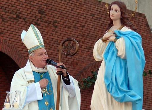 Avellaneda-Lanús celebra a su patrona y despide a Mons. Frassia