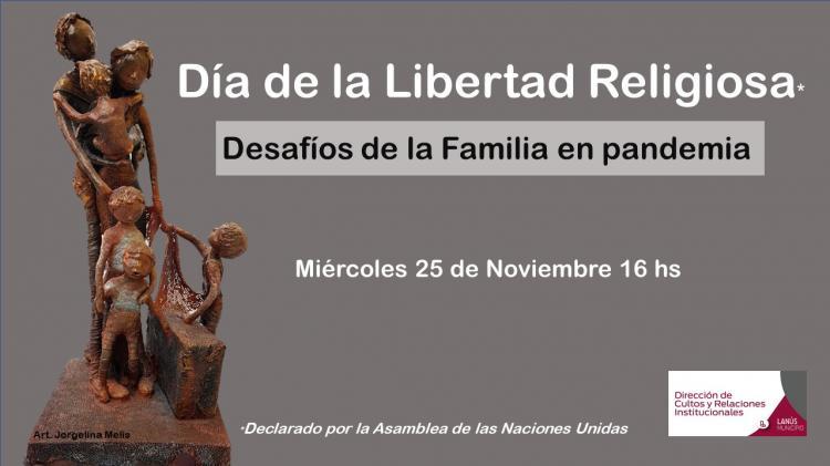 El municipio de Lanús conmemora el Día Libertad Religiosa