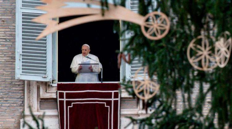 """El Papa en el Ángelus: """"La belleza incontaminada de nuestra Madre no atrae"""""""