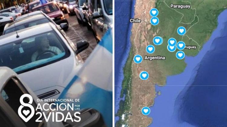 La Argentina se une esta tarde en una #CaravanaProvida