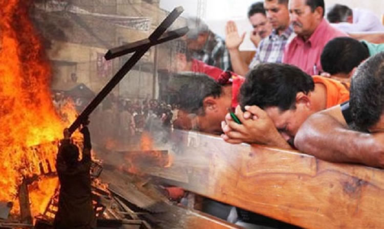 Los cristianos encabezan la lista de las comunidades religiosas más acosadas