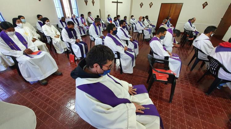 Los sacerdotes del clero jujeño culminaron sus Ejercicios Espirituales Anuales