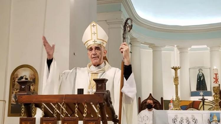 El obispo de Chascomús solicitó llevar a cabo las celebraciones de las misas en toda la diócesis